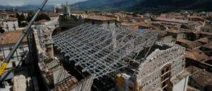 An innovative roof made of fibreglass TRIGLASS® profiles