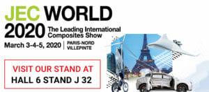 Visit Top Glass at JEC World Composites Show 2020