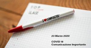Coronavirus, COVID-19 – Comunicazione aziendale importante