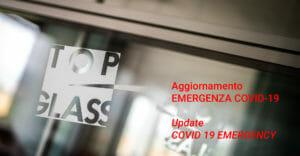 Aggiornamento – EMERGENZA COVID-19